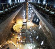 шахта Турда,вид из лифта