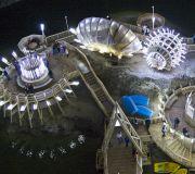 соляная шахта Турда, озеро