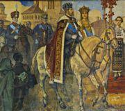 Король Фердинанд и королева Мария
