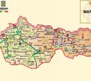 Марамуреш - туристическая карта