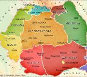 Румыния карта провинции